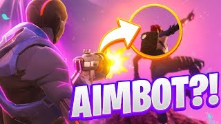 I USE AIMBOT AT FORTNITE... (HOW TO HAVE THE BEST AIM AT FORTNITE)