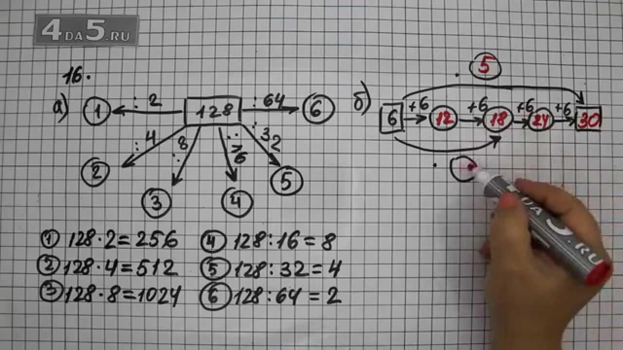 Гдз по математике 6 виле