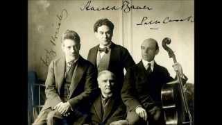Flonzaley String Quartet - Brahms: Piano Quintet
