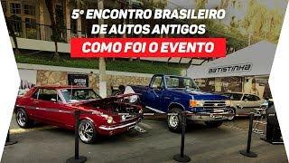 Batistinha no 5º Encontro Brasileiro de Autos Antigos - Águas de Lindóia