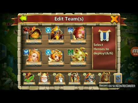 Boss 5: Full Reward In 2 Entry: Castle Clash
