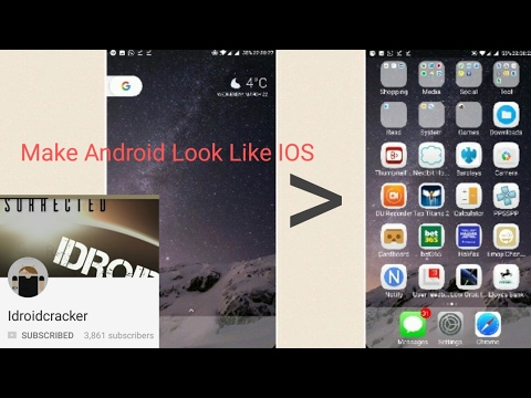 Turn Android Into Iphone