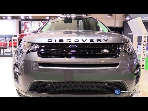 2016 Discovery Sport HSE Luxury - Exterior and Interior Walkaround - 2016 Montreal Auto Show