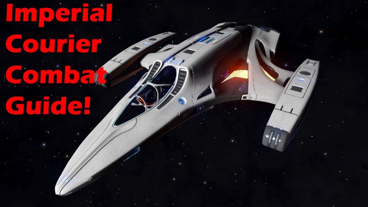 Elite Dangerous Imperial Courier