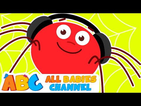 Itsy Bitsy Spider | Incy Wincy Spider & Lots More Nursery Rhymes for Kids  | All Babies Channel