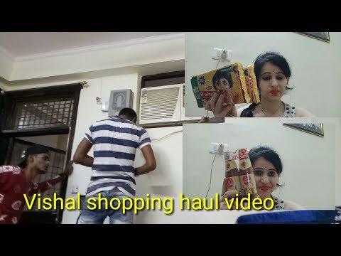 Vishal Mega Mart shopping haul video 2018? Indian youtuber VoonikaVlog&