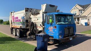 Dick's Sanitation: Autocar Autoreach Garbage Trucks