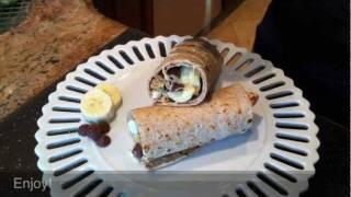 Dessert Diet: Banana Wraps with Honey, Chocolate, Marshmallow! Damascus Bakeries