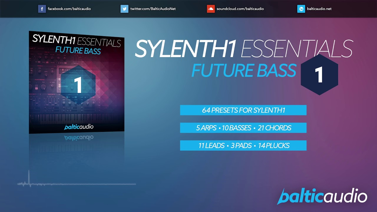 Sylenth1 Essentials Vol 1: Future Bass (64 Sylenth1 presets)
