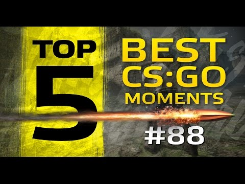 TOP5 Best CSGO Moments #88