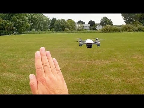 DJI Spark Quickshot and Gesture Control Flight Test Review