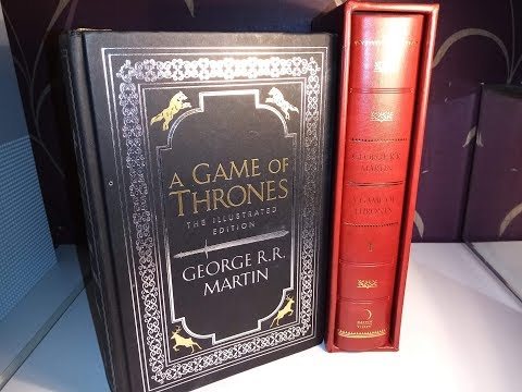 A Game Of Thrones - The Illustrated Edition Hardback By George RR Martin