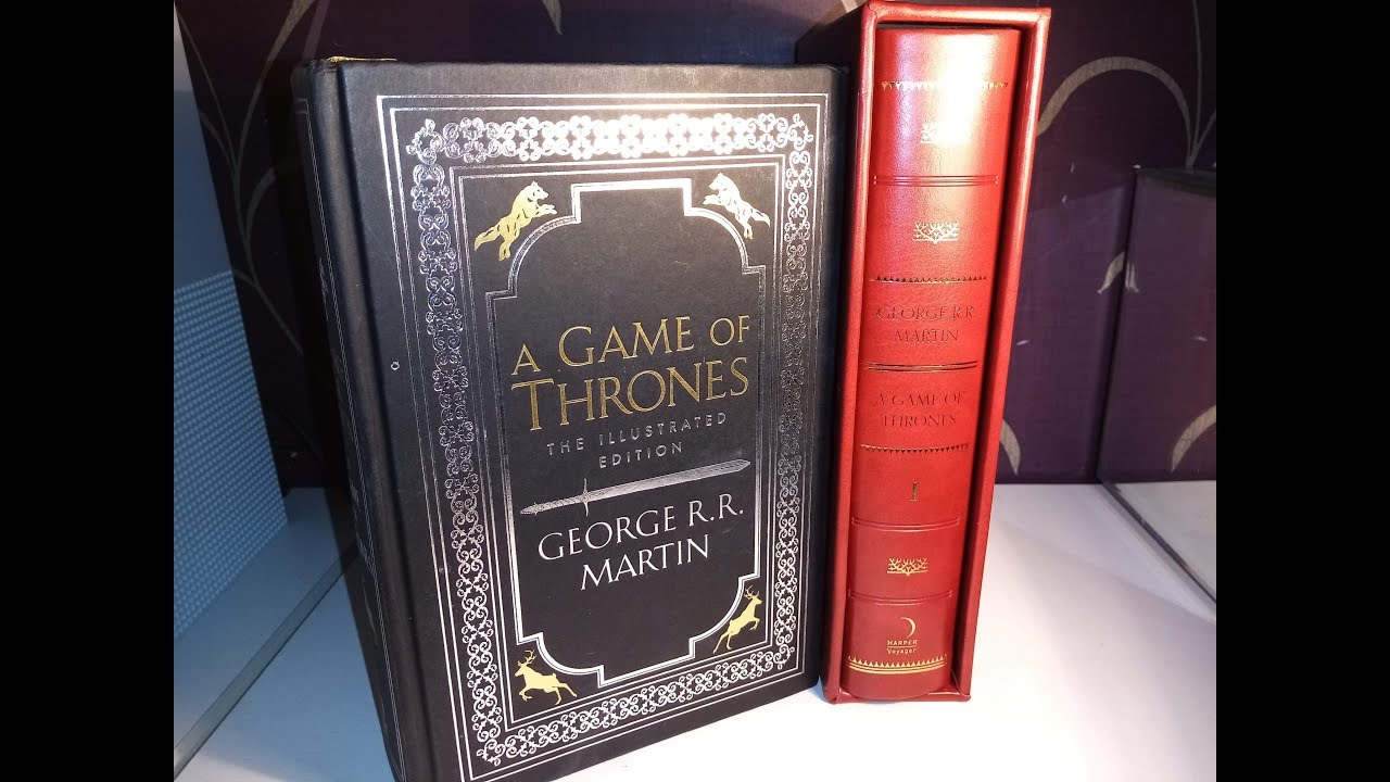 A Game Of Thrones The Illustrated Edition Hardback By George Rr Martin Youtube
