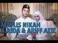 Video Penuh Majlis Nikah Datuk A.Aida & Ariff Aziz di Dorsett Grand Subang