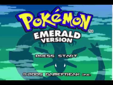 Pokemon Emerald Music Hack - Pokemon Red/Blue Unused Song
