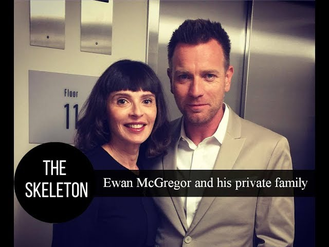 Ewan McGregor and his private family