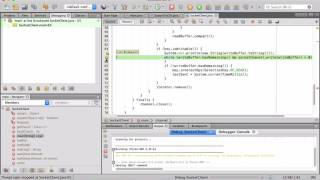 Demo debug of java client to buy with Dukascopy JForex for algo forex trading