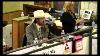cattle auctioneer raps to the melker project show me pound cake