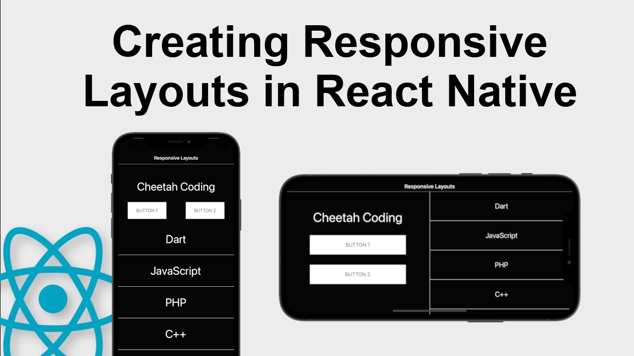 How to Create Responsive Layouts in React Native
