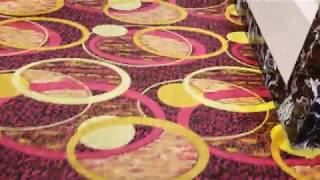 HskyArt bubble circle buffet carpet AtLA 2018 HSKY