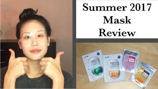 Summer 2017 Mask Review