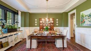 Gorgeously Refreshing Green Dining Rooms Ideas, Photos