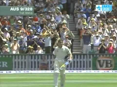 Hussey and McGrath epic partnership vs South Africa 2005