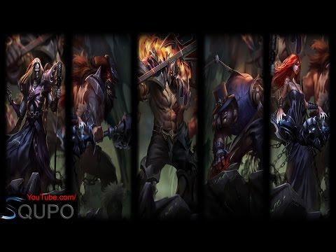 All Pentakill Skins (League of Legends)
