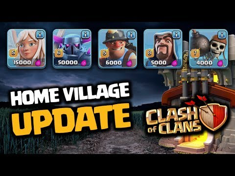 NEW CLASH OF CLANS UPDATE GAMEPLAY from YouTube · Duration:  16 minutes 34 seconds