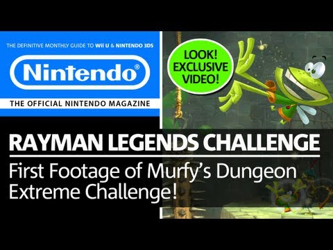 First Look! Rayman Legends Challenge App - Daily Extreme Challenge