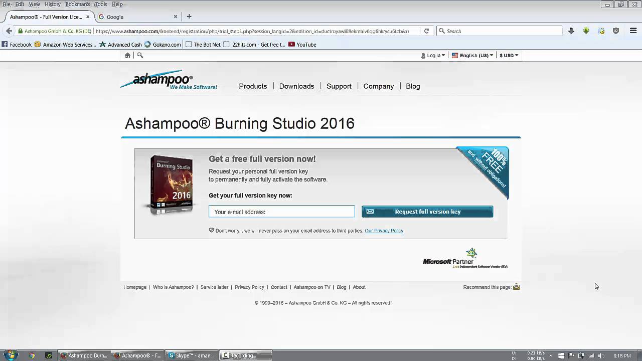 ashampoo burning studio 6.76 free