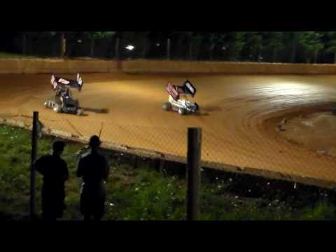 Rolling Thunder Raceway( MINI SPRINTS) 7-29-16