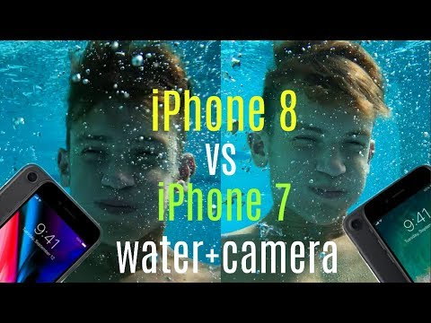 iPhone 8 vs iPhone 7 Water Test + Video Comparison!