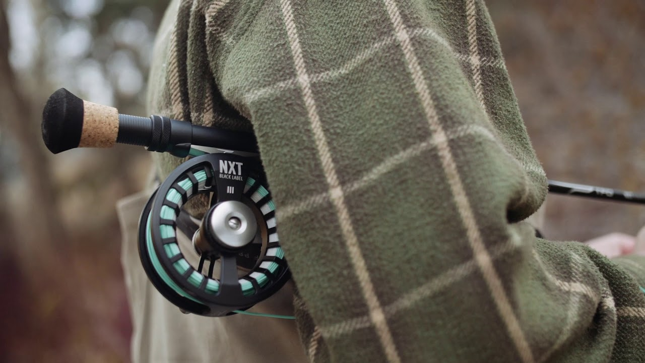 Temple Fork Outfitters NXT Black Label Fly Rod and Reel Kit