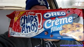 Reed Reviews Chips Ahoy Oreo Creme Filled Cookies
