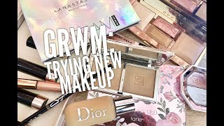 GRWM: Trying New Makeup Products