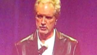 Bob Gaudio introducing Frankie Valli at the NJ Hall of Fame May 2010