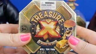 Altın Bulma Challenge - Treasure-X Gold Hazine Avı Peşindeki Oyuncak Bebekler Kim? Bidünya Oyuncak