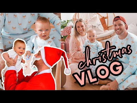 Our first Christmas being PARENTS! What to do when you EAT TOO MUCH!?