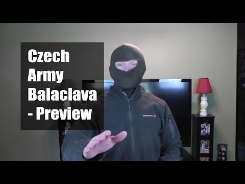 Czech Army Balaclava - Preview