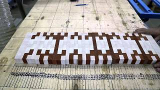 Making Two Simple Chaotic Pattern End Grain Cutting Boards