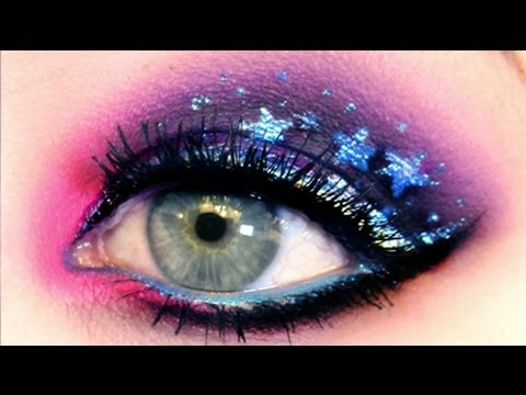 ★★ GALAXY EYES: Makeup Tutorial ★★ - YouTube
