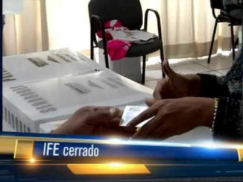 Módulos Ife Cerrados El 1 De Diciembre 30 Nov 12 Telediario Saltillo