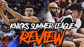 2018 New York Knicks Summer League Review!