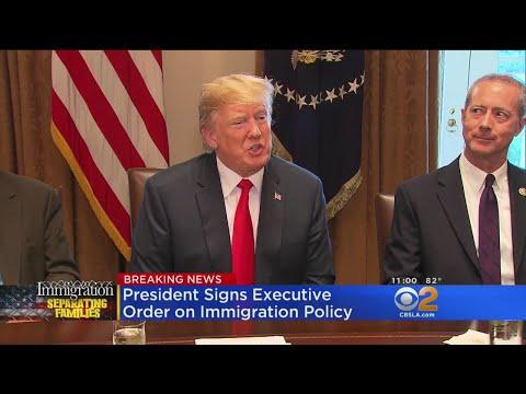Trump Retreats on Separating F executive order