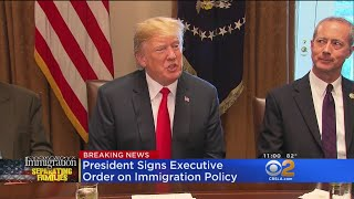 Trump To Sign Executive Order To End Family Separation At Border