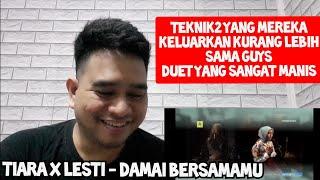 Download lagu MERDU SEKALI | LESTI x TIARA x TOHPATI - DAMAI BERSAMAMU | Reaction