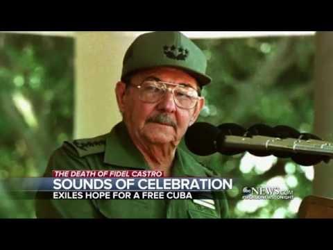 Cubans in Miami Celebrate Castro's Passing