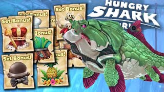 ALL SET BONUS Gameplay!! - Hungry Shark World | Ep 20 HD
