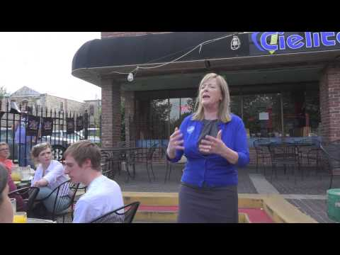 Margie Wakefield, (D) Candidate in District 2 Speaks to Kansas Young Democrats